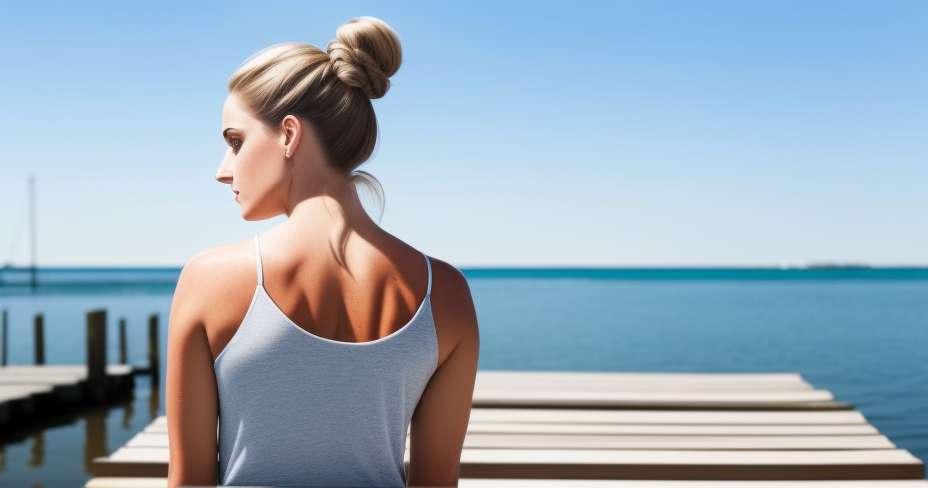 Rygg ryggen forbedrer holdningen din