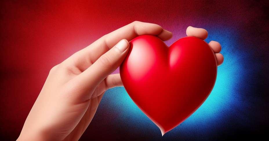 לב שבור כואב כמו כוויה על העור