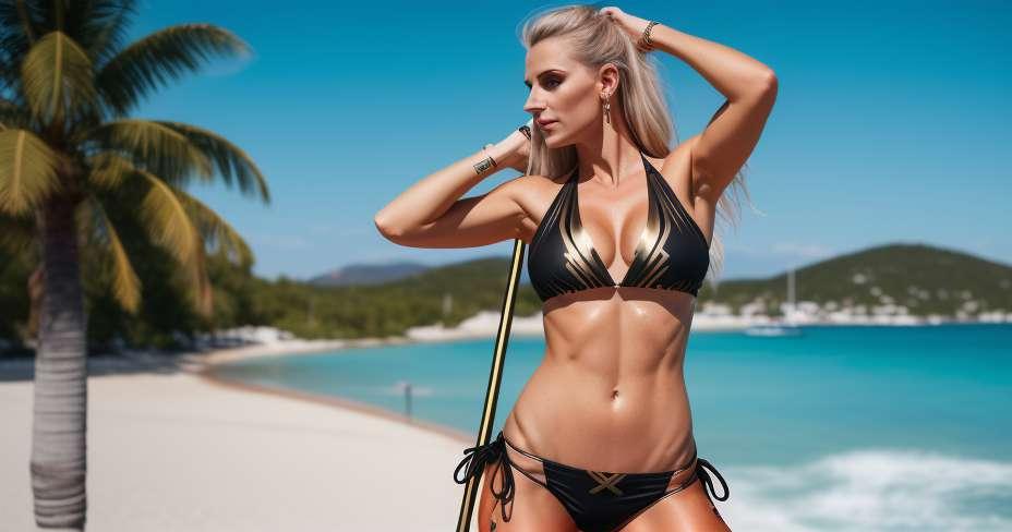 Salte com salto com vara nos Jogos Olímpicos