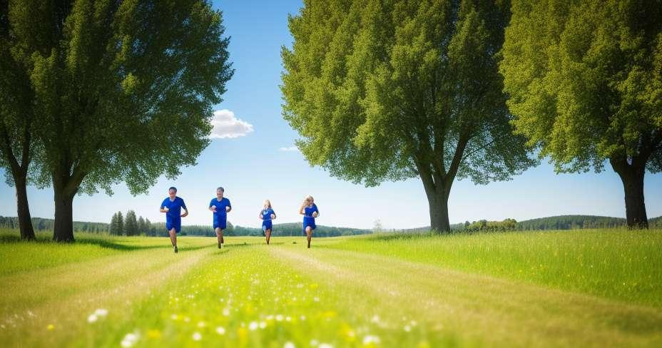 Children's race stimulates children's development