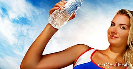 Dehydration by exercise