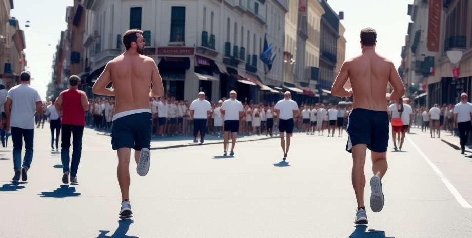 Niujorko maratonas per 2 minutes