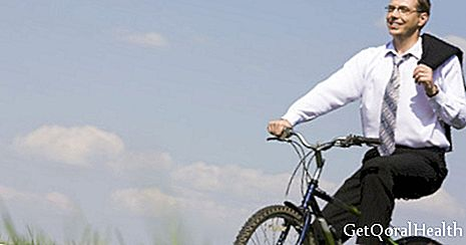 Pyöräily stimuloi mieltä