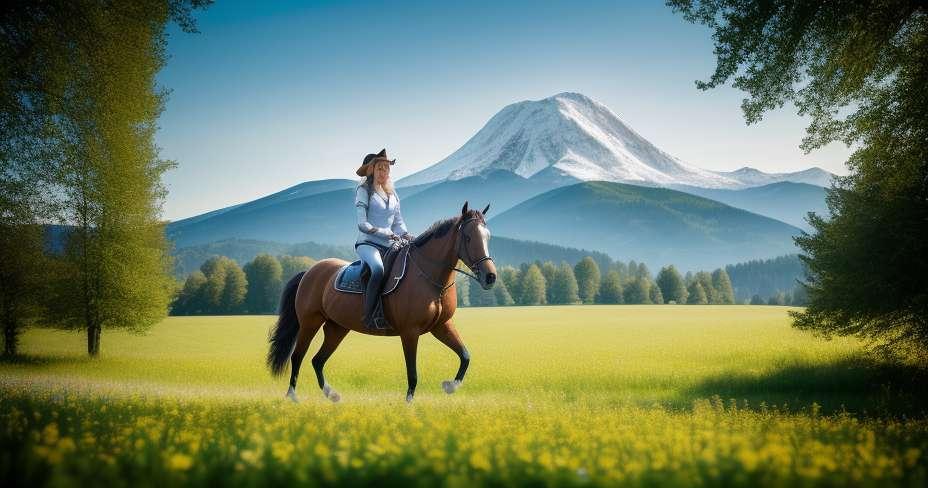 רכיבה על סוסים בצורת הדמות שלך