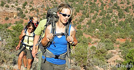 Hiking improves cardiovascular health