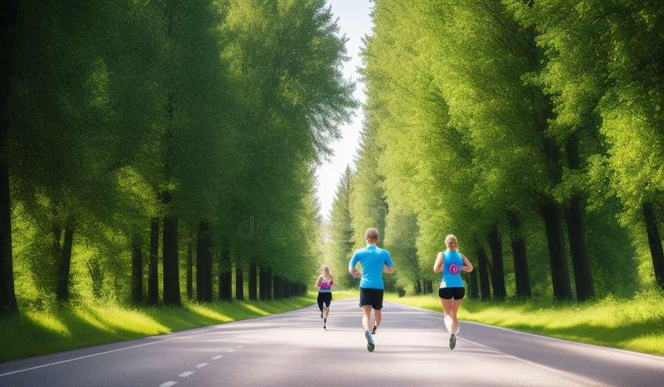 Berhati-hati untuk tidak mengambil langkah buruk semasa berlari!