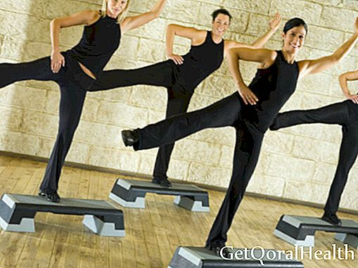Skipping on step to sculpt your body