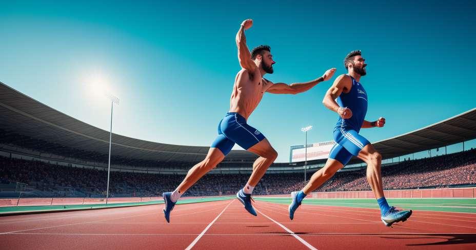 ヨハンブレイクは100メートルのレースで優勝