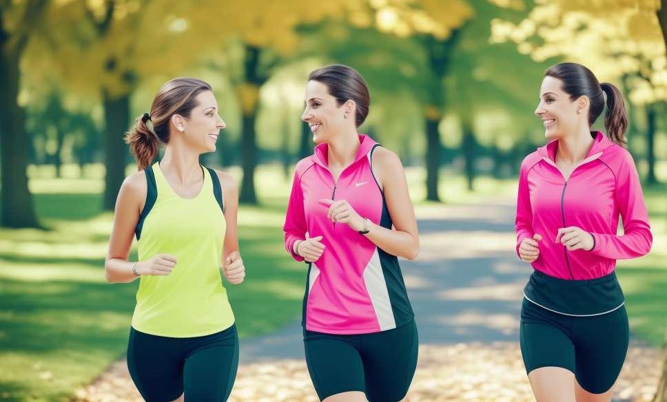 Correndo com moderação, a chave