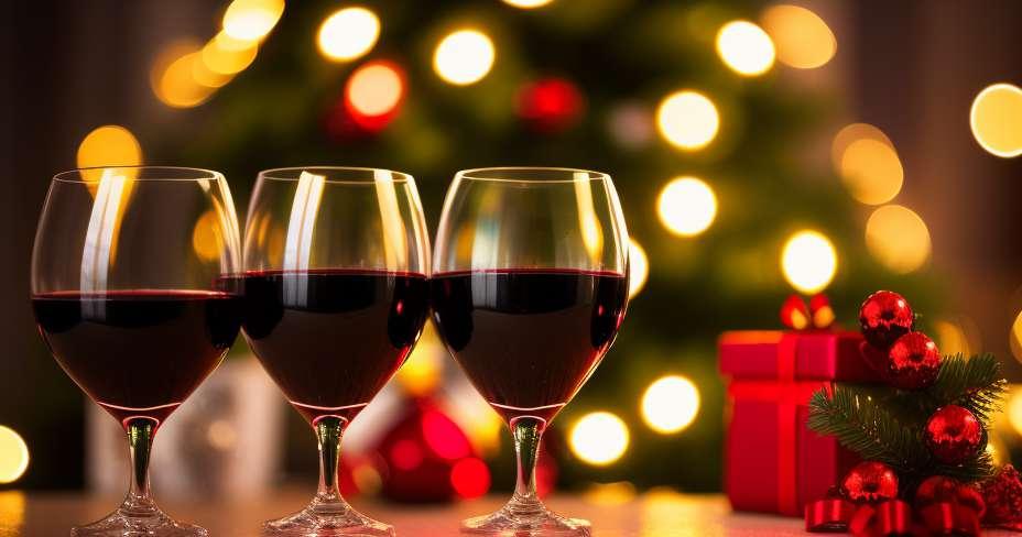 알코올 남용은 크리스마스의 위험 요소입니다.