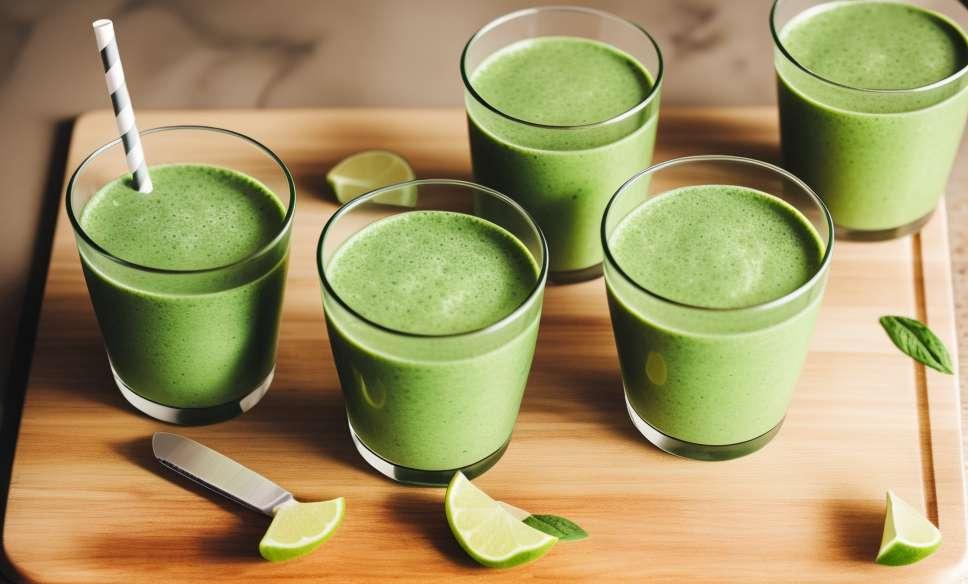 FOTO 8 žalieji kokteiliai, kad pamatytumėte jus jaunesni