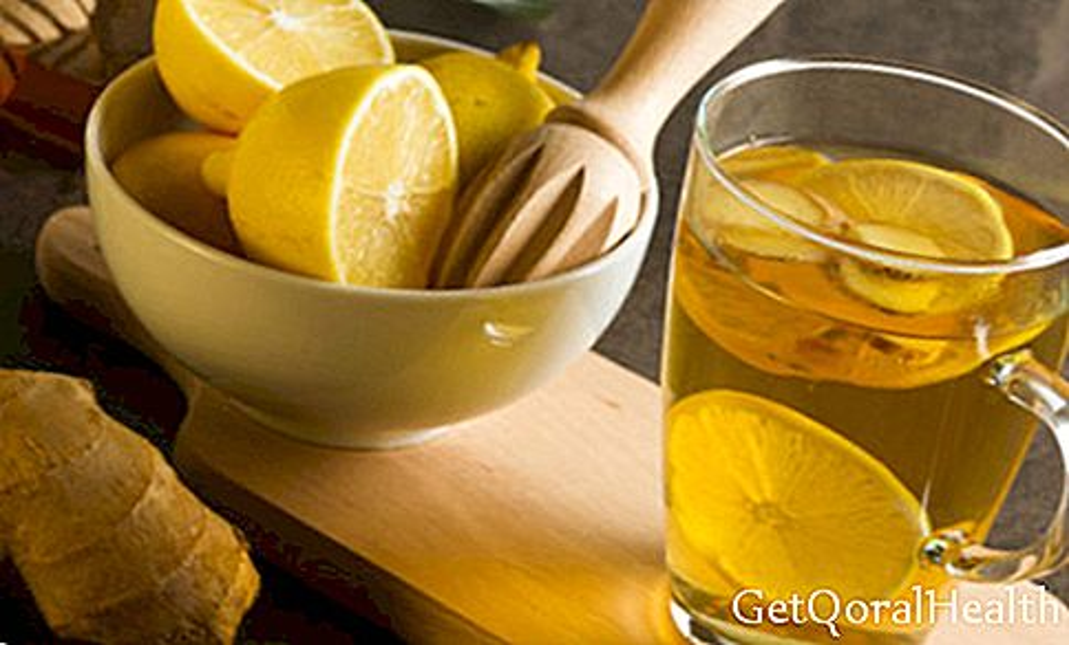 Shot of fasting ginger