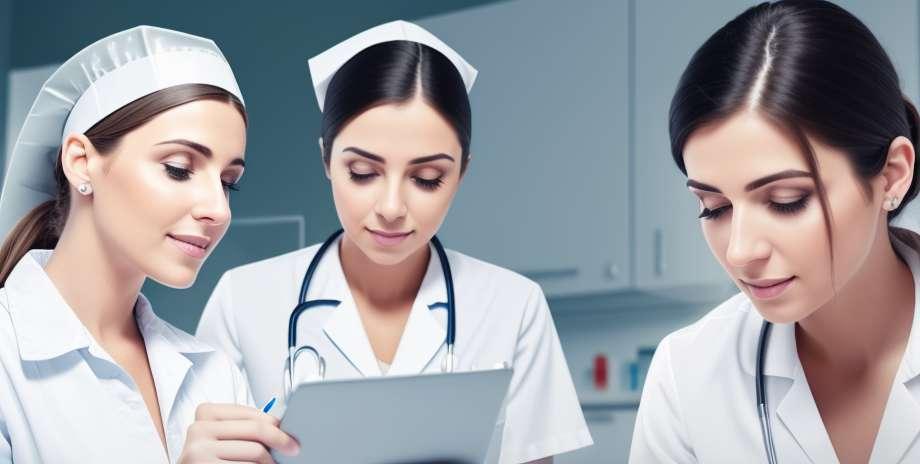 Pflegepersonal der älteren Menschen