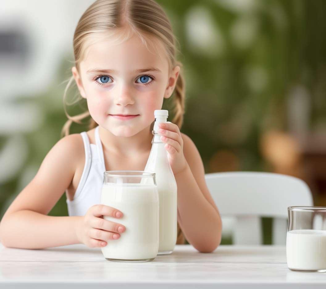 Pienas ir pienas vaikams nuo 1 iki 3 metų
