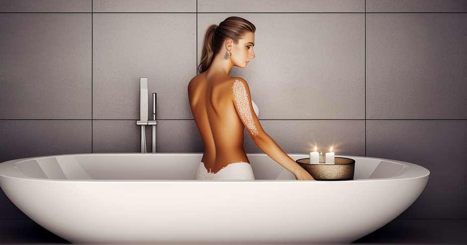Izboljšajte pretok s sproščujočo kopeljo