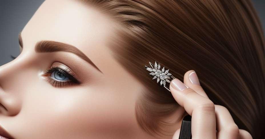 Opravy rozbitých konců ve vlasech