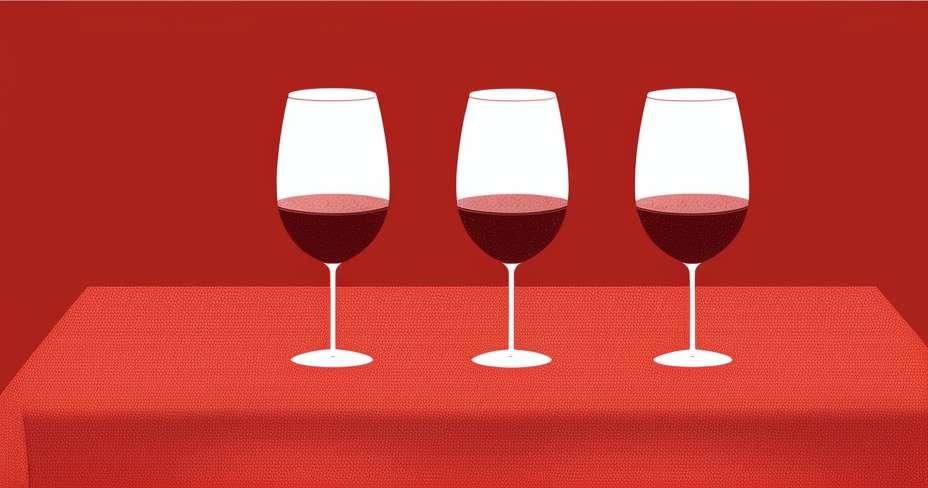 Bas cholestérol avec champagne rose