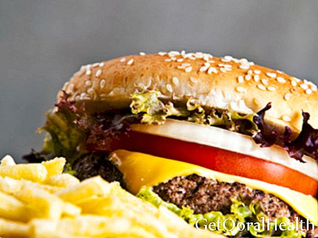 Übungen gegen fetthaltige Lebensmittel