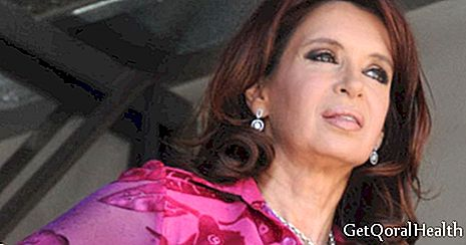 كريستينا فرنانديز تعاني من انخفاض ضغط الدم