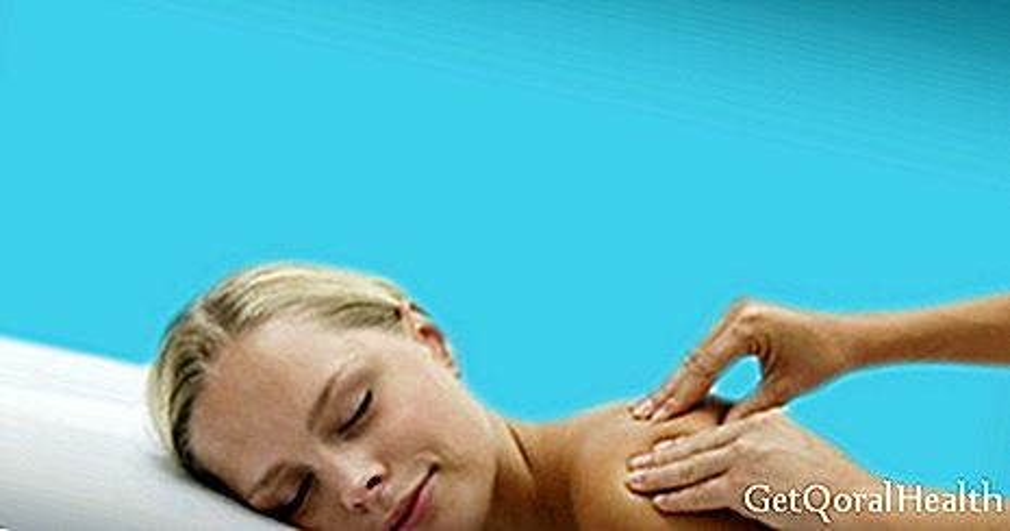Lõõgastav massaaž vähendab stressi