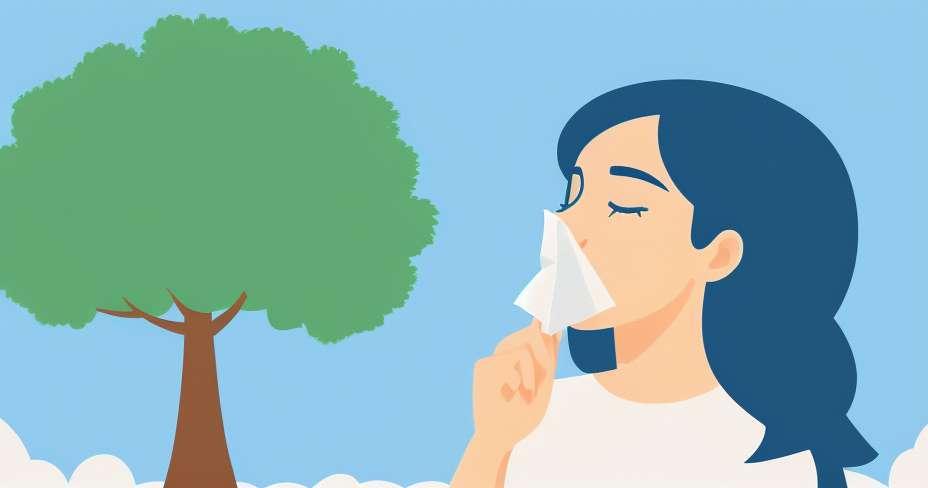 Allergic rhinitis increases in hot season