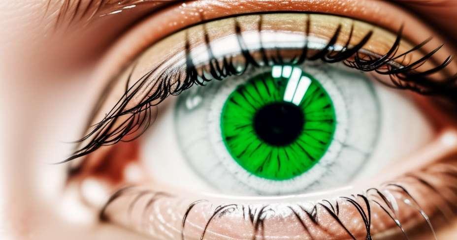 البقع العائمة على العيون؟
