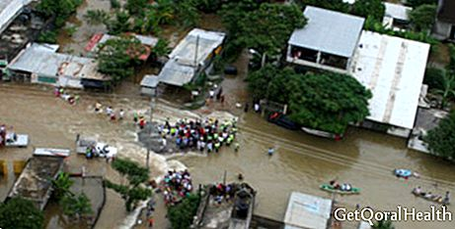 Doenças de pele em áreas inundadas