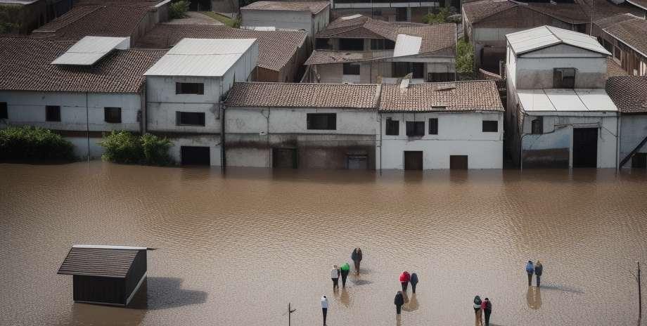Skin diseases in flooded areas