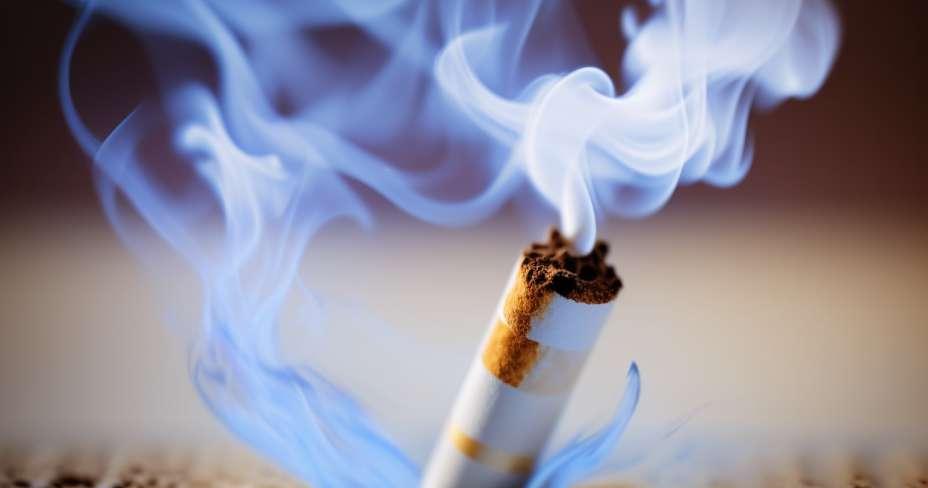 Збогом цигарета