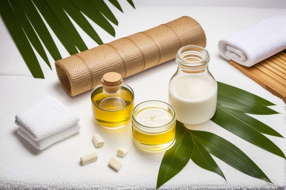 天然油が肌を活性化