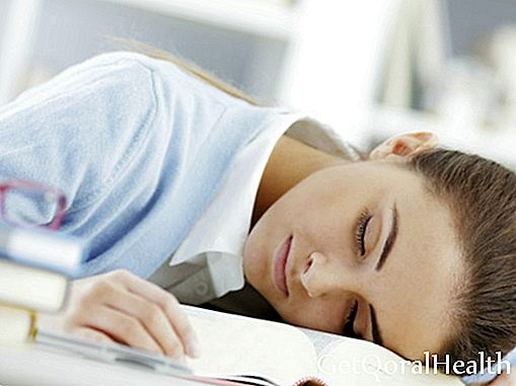 Lack of sleep reduces school performance