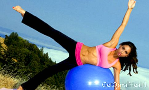Video. Mark your abdomen with Swiss ball exercises