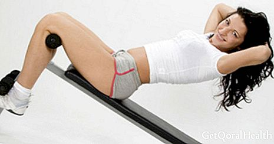 복부 봉와직 대 5 운동