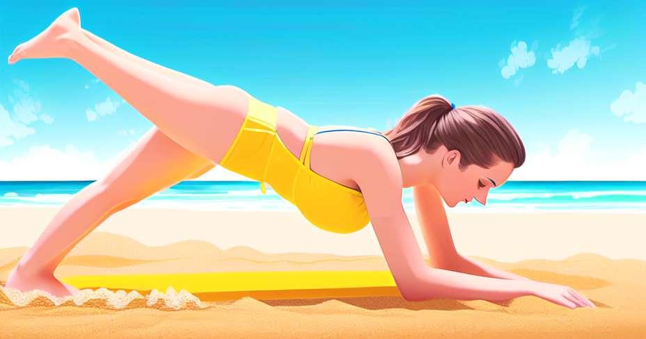 5 vježbi s loptom za sagorijevanje masti