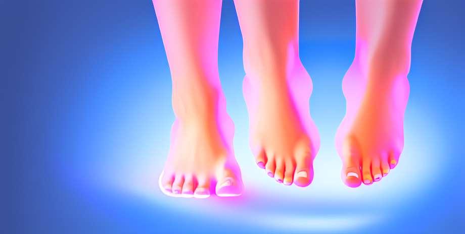 I piedi riflettono le malattie del corpo