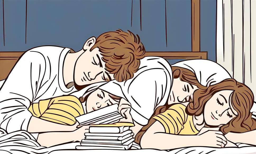 Koks ryšys tarp prastos miego ir skyrybų?
