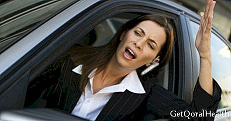 Traffic damages brain cells