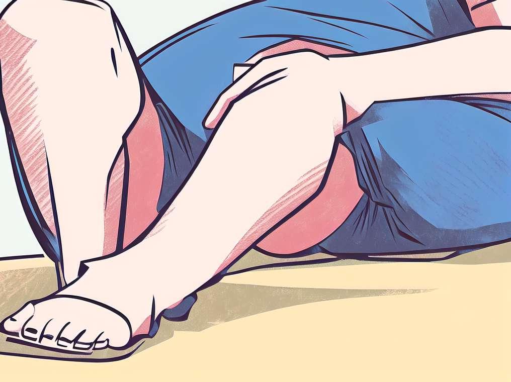 Neramių kojų sindromas pasireiškia daugiau moterų