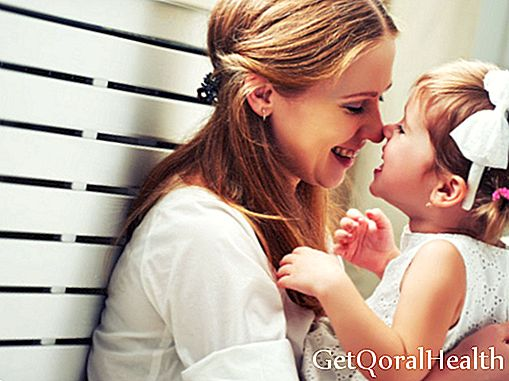 Benefits of caressing your children