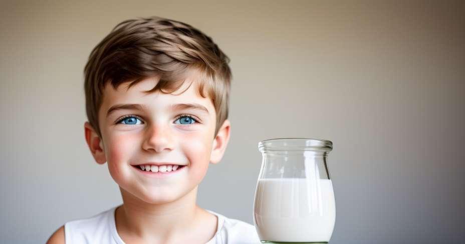 فوائد الألبان لصحة الأطفال