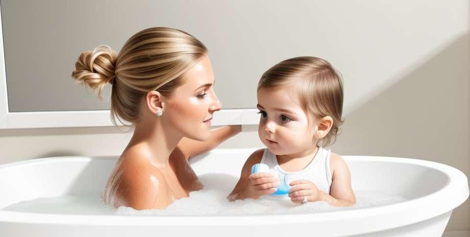 Tips for å bade den nyfødte