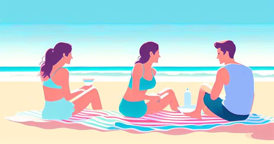 5 sunne ideer å spise på stranden