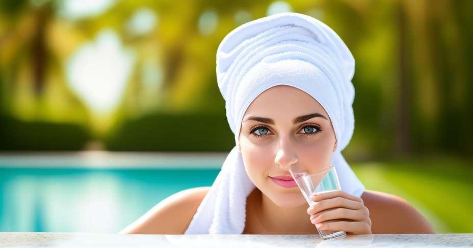 Izgubite težinu kada pijete vodu