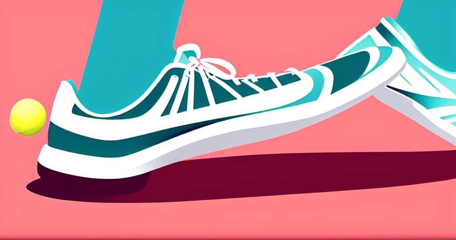 Perdre du poids n'est pas une merveille du tennis