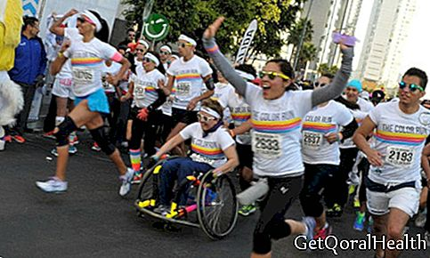 Color Run je stigao na ulice Mexico Cityja