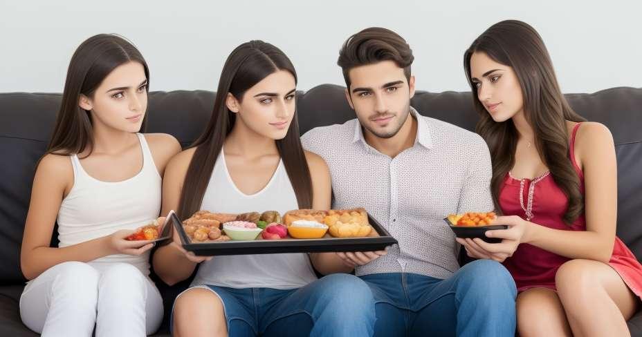 Junge Eltern haben Probleme, gesunde Gewohnheiten aufrechtzuerhalten