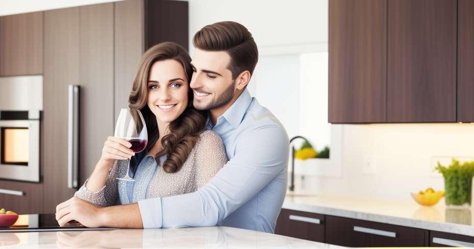 Memasak sebagai pasangan menguatkan keintiman