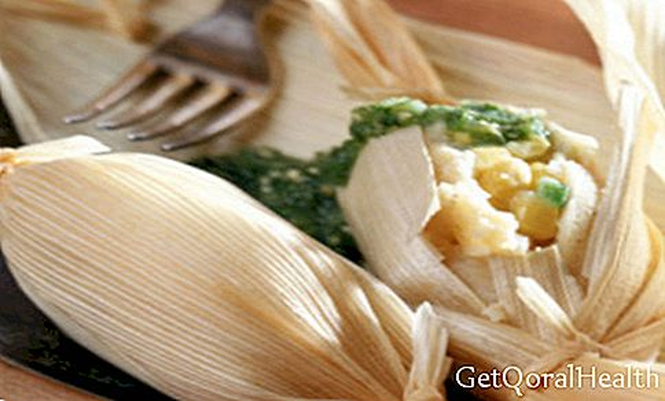 Tamale jagung manis