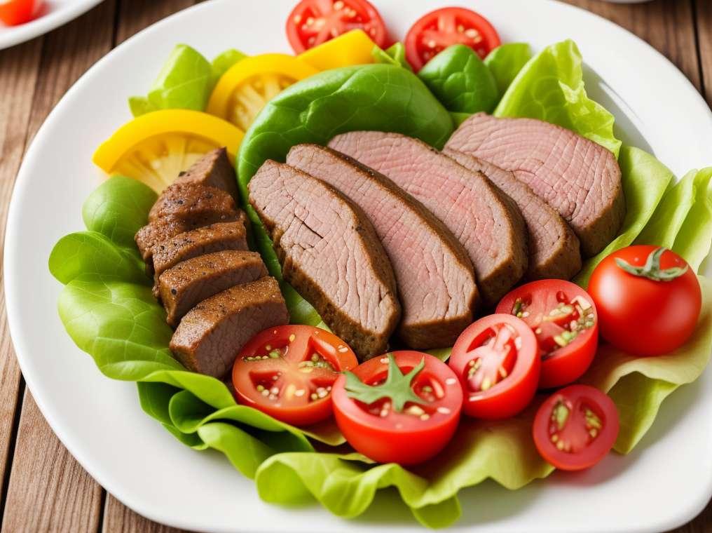 Pečena riba s vinaigretteom od crnog graha