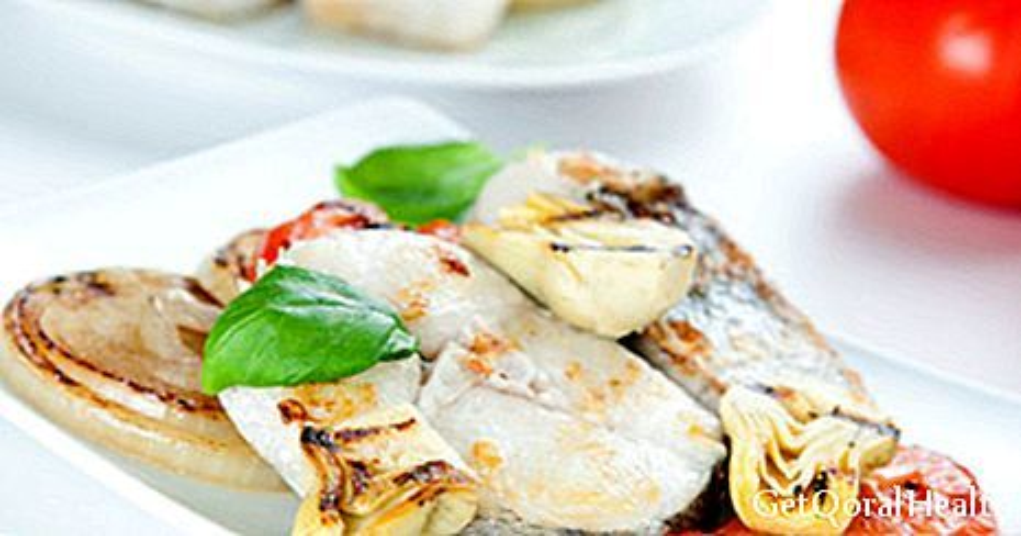 Curry léger aux artichauts et au poulet